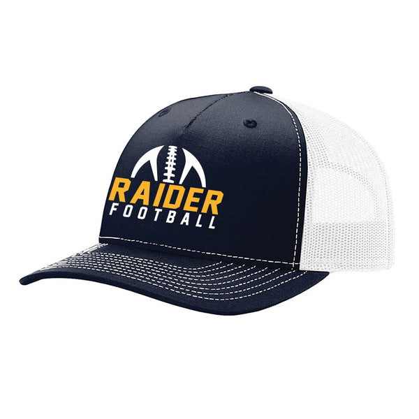 Raider Football Adjustible Mesh Back Hat