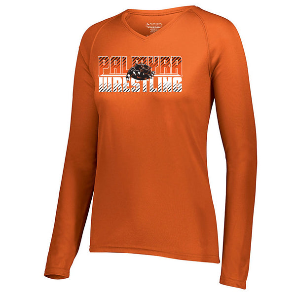 Palmyra Wrestling Ladies Drifit Long Sleeve