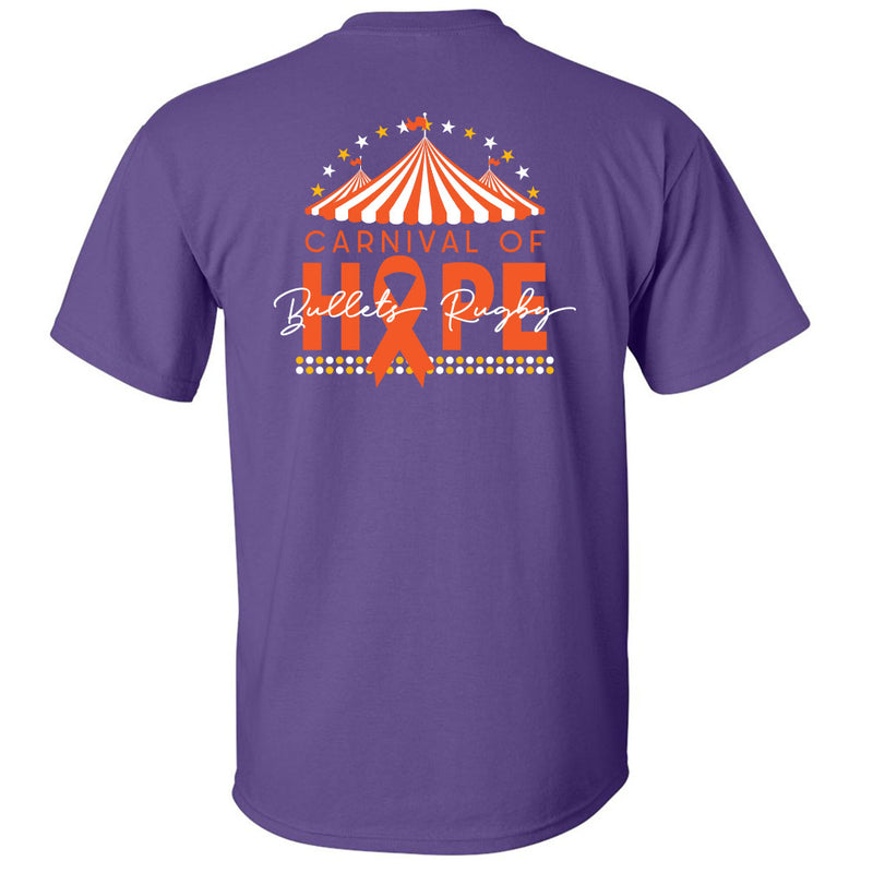 Carnival of Hope Bullets Rugby T-Shirt