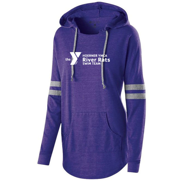 River Rats Ladies Hooded Pullover