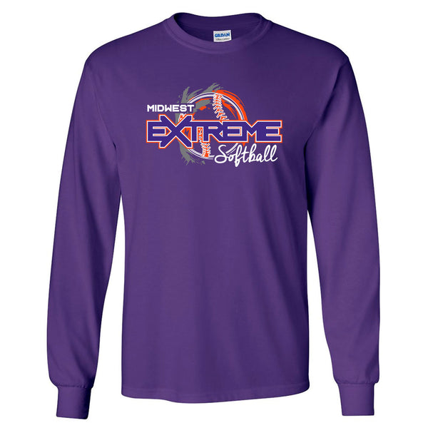 Extreme Softball Long Sleeve Tee