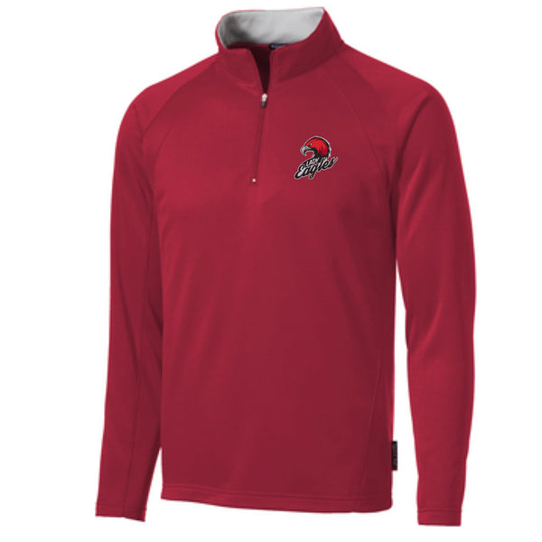 QCCS Eagles Fleece Lined 1/4 Zip