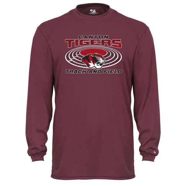 Canton Track & Field Drifit Long Sleeve