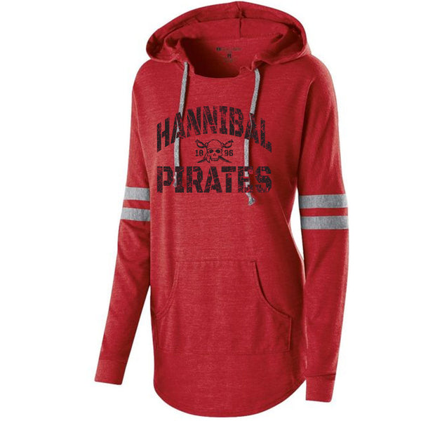 Hannibal Pirates Ladies Hooded Pullover