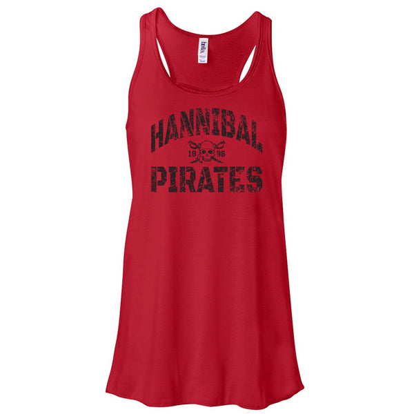 Hannibal Pirates Ladies Flowy Tank