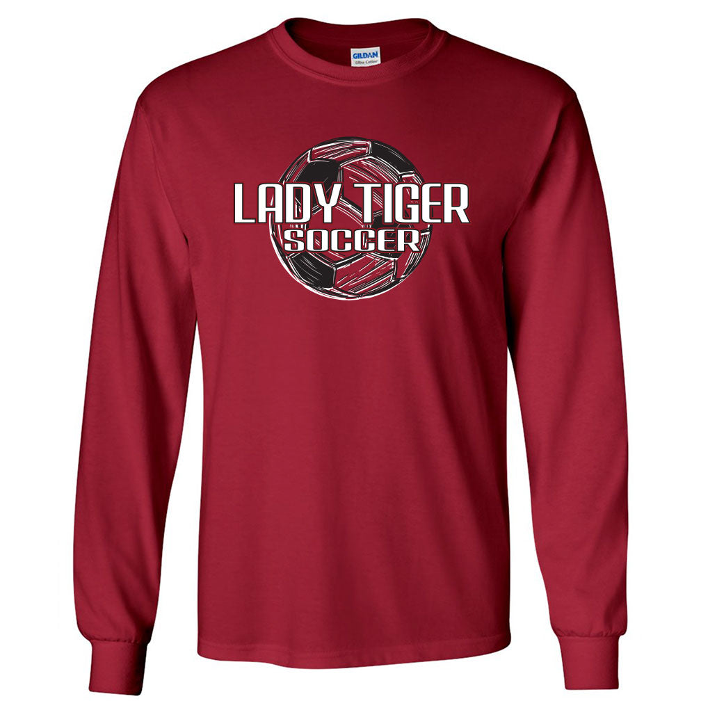 Lady Tiger Soccer Long Sleeve