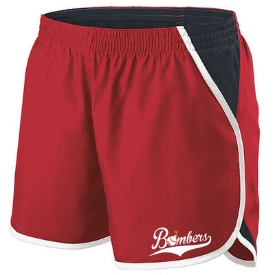 Quincy Bombers Ladies Energizer Shorts