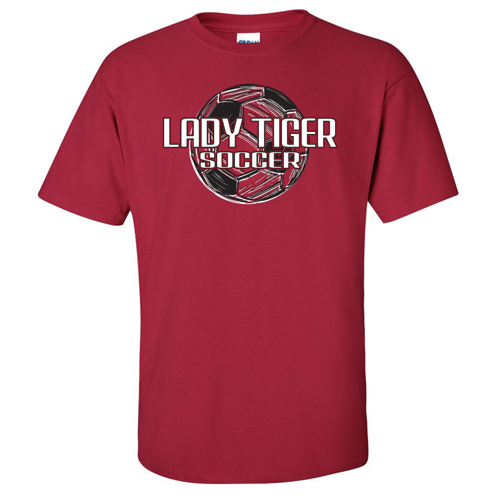 Lady Tiger Soccer T-Shirt