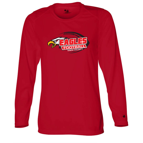 Knox County Football Ladies Drifit Long Sleeve