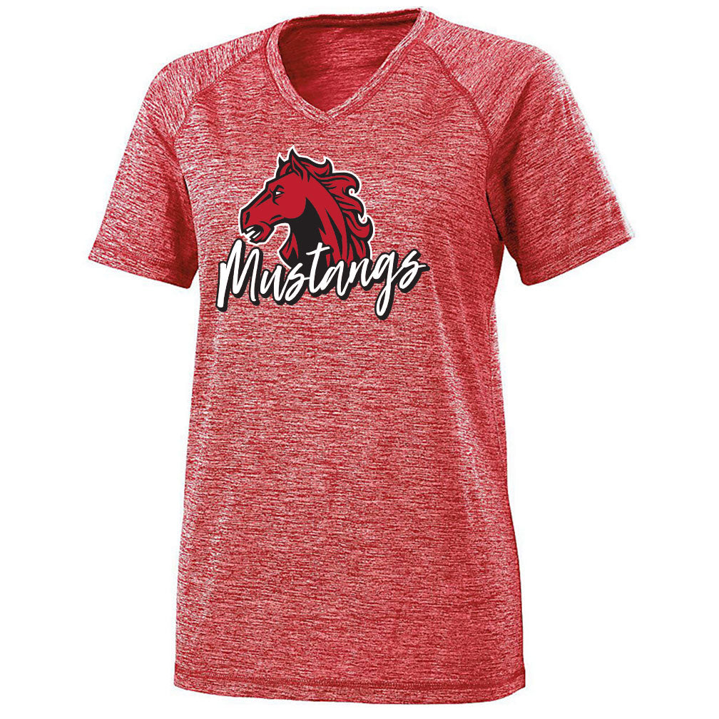 Marion County Spring 2019 Ladies Electrify V-Neck Tee