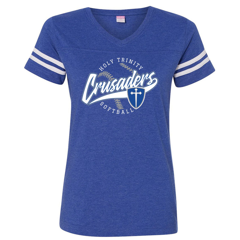 Holy Trinity Softball Ladies Vintage Tee