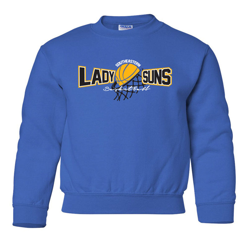 Lady Suns Basketball Youth Sweatshirt