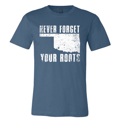 Hall Family Reunion Steel Blue T-Shirt