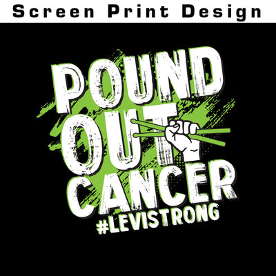 Pound Out Cancer Ladies Flowy Tank