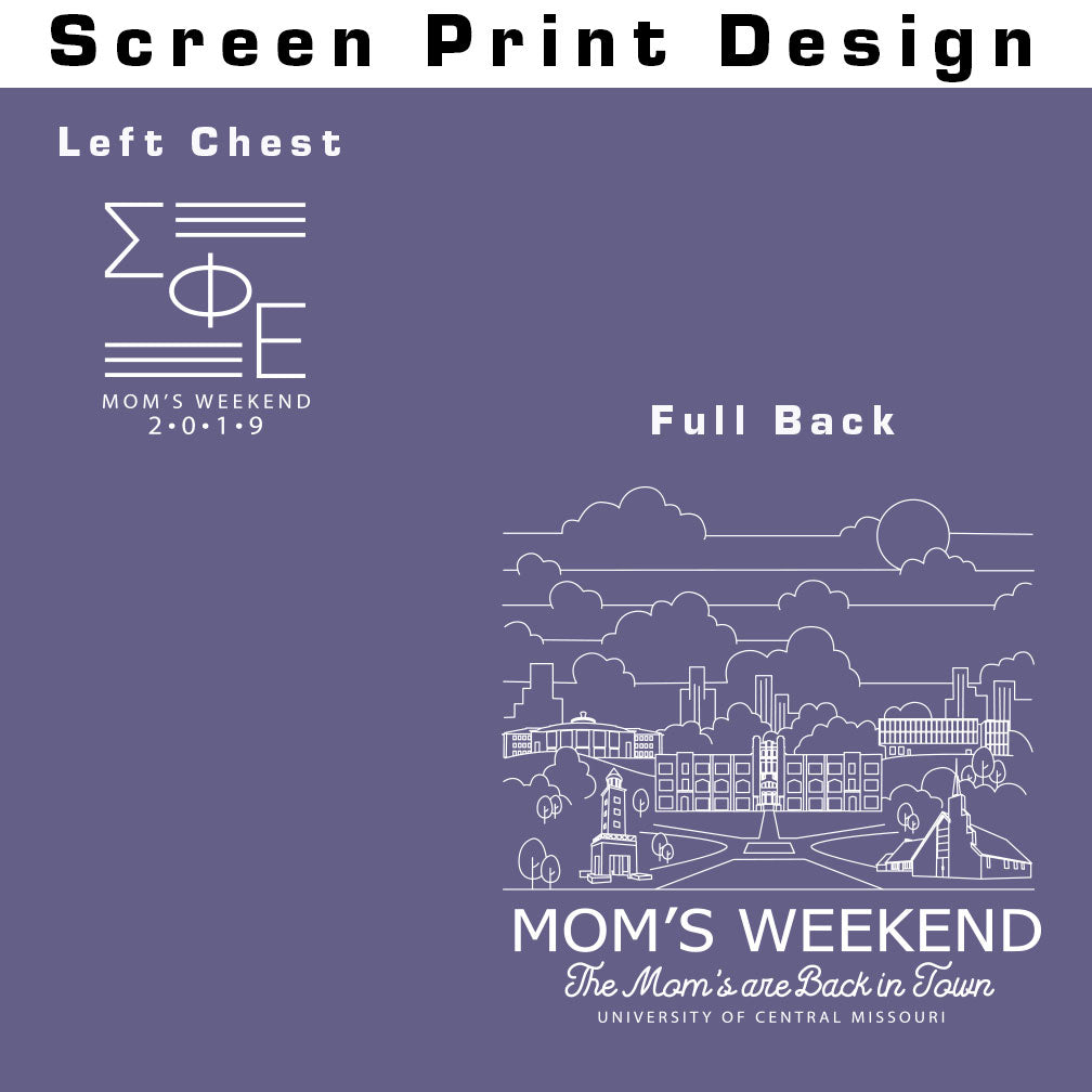 Sigma Phi Epsilon Mom's Weekend T-Shirt