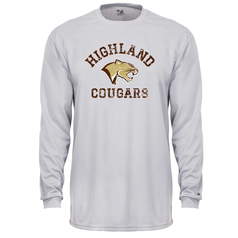 Highland Football Youth Drifit Long Sleeve