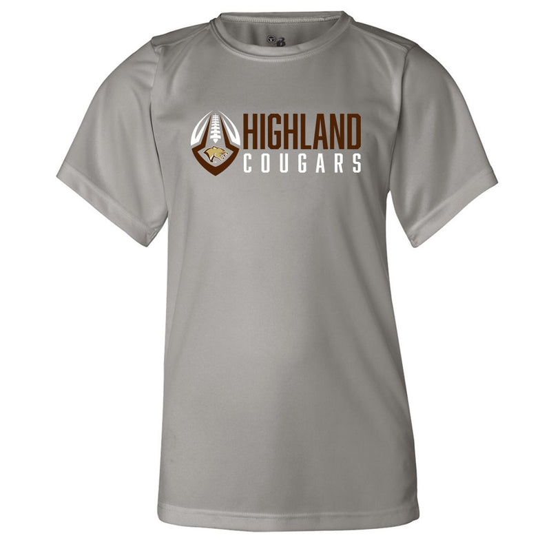 Highland Football Youth Drifit Tee
