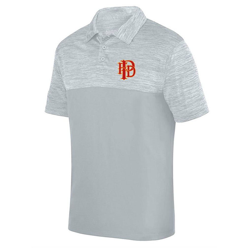 Palmyra Fire Shadow Tonal Heather Polo