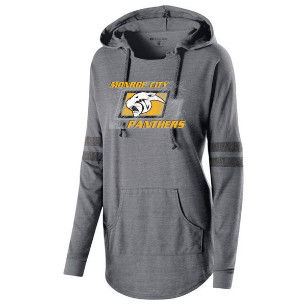 Monroe City Ladies Hooded Pullover
