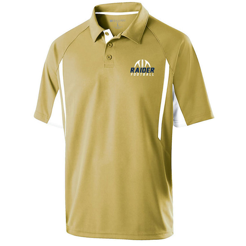 Raider Football Flux Polo