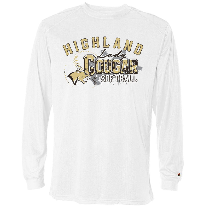 Highland Softball Drifit Long Sleeve