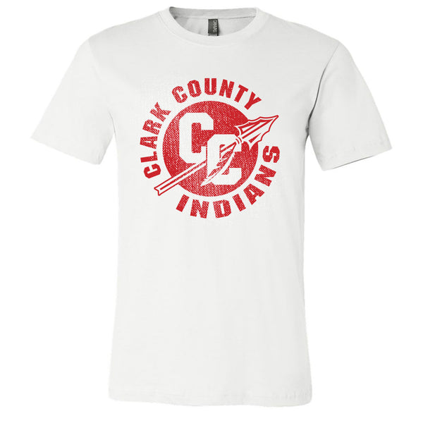 Clark County Indians Softstyle Tee