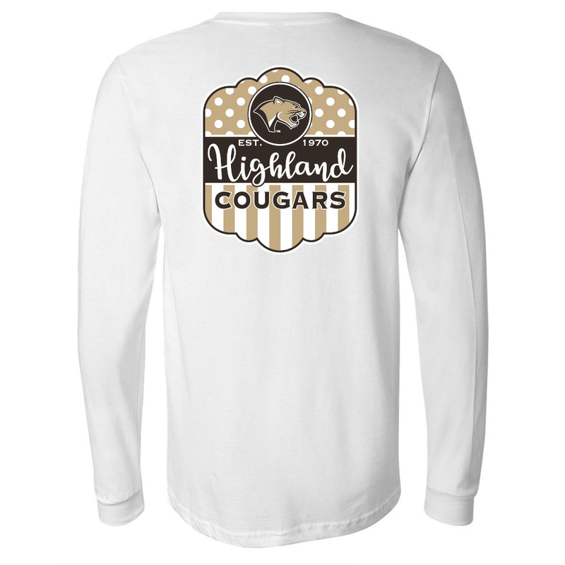 Highland Softstyle Long Sleeve Girly Cougar