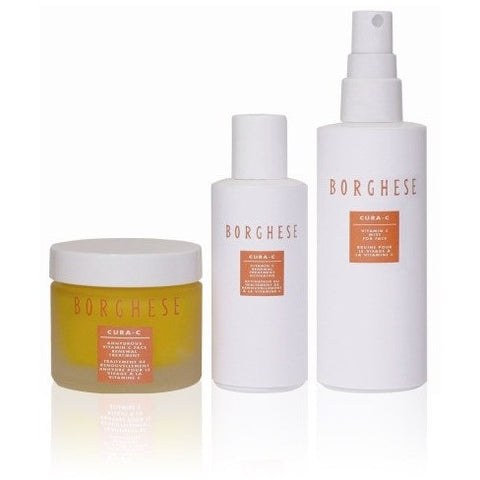 Borghese:Cura C Renewal Treatment Kit 5 Pack - Eucerin Original Healing Rich Creme, 16 Oz Each