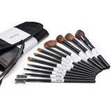 Karity Cosmetics Studio 12-Piece Natural Hair Makeup Brush Set With Pouch