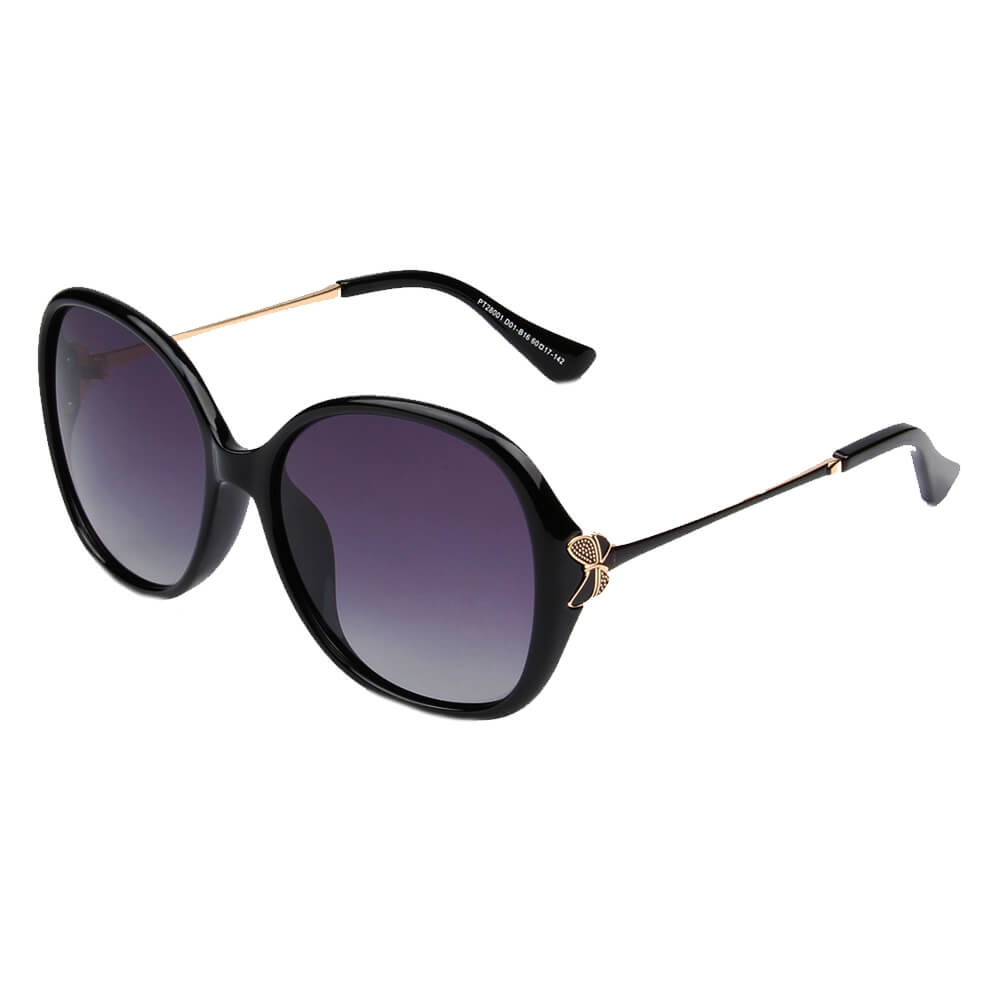 AQUILLA | SHIVEDA PT28001 - Women Round Oversize Fashion Sunglasses - Cramilo Eyewear - Stylish Trendy Affordable Sunglasses Clear Glasses Eye Wear Fashion