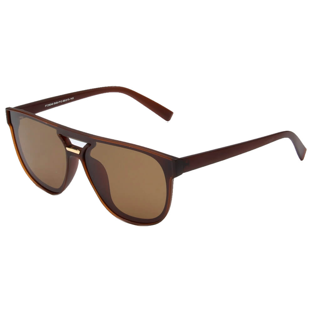WARSAW | SHIVEDA PT28040 - Classic Round Polarized Fashion Sunglasses - Cramilo Eyewear - Stylish Trendy Affordable Sunglasses Clear Glasses Eye Wear Fashion