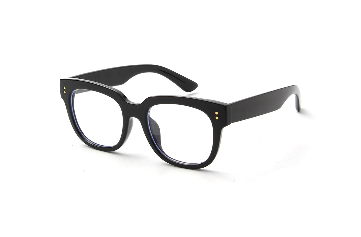 Swansea | Classic Round Blue Light Blocker Eyeglasses
