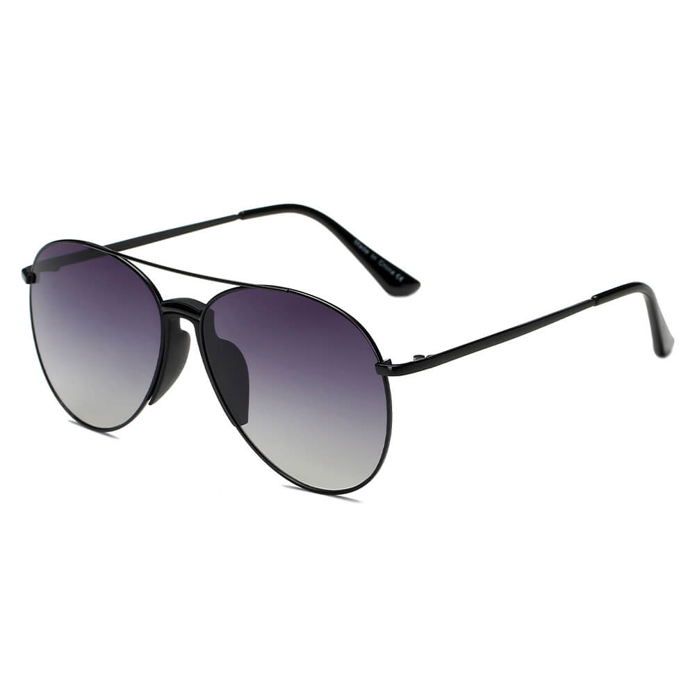 IPSWICH | S1070 - Unisex Classic Fashion Aviator Sunglasses - Cramilo Eyewear - Stylish Trendy Affordable Sunglasses Clear Glasses Eye Wear Fashion