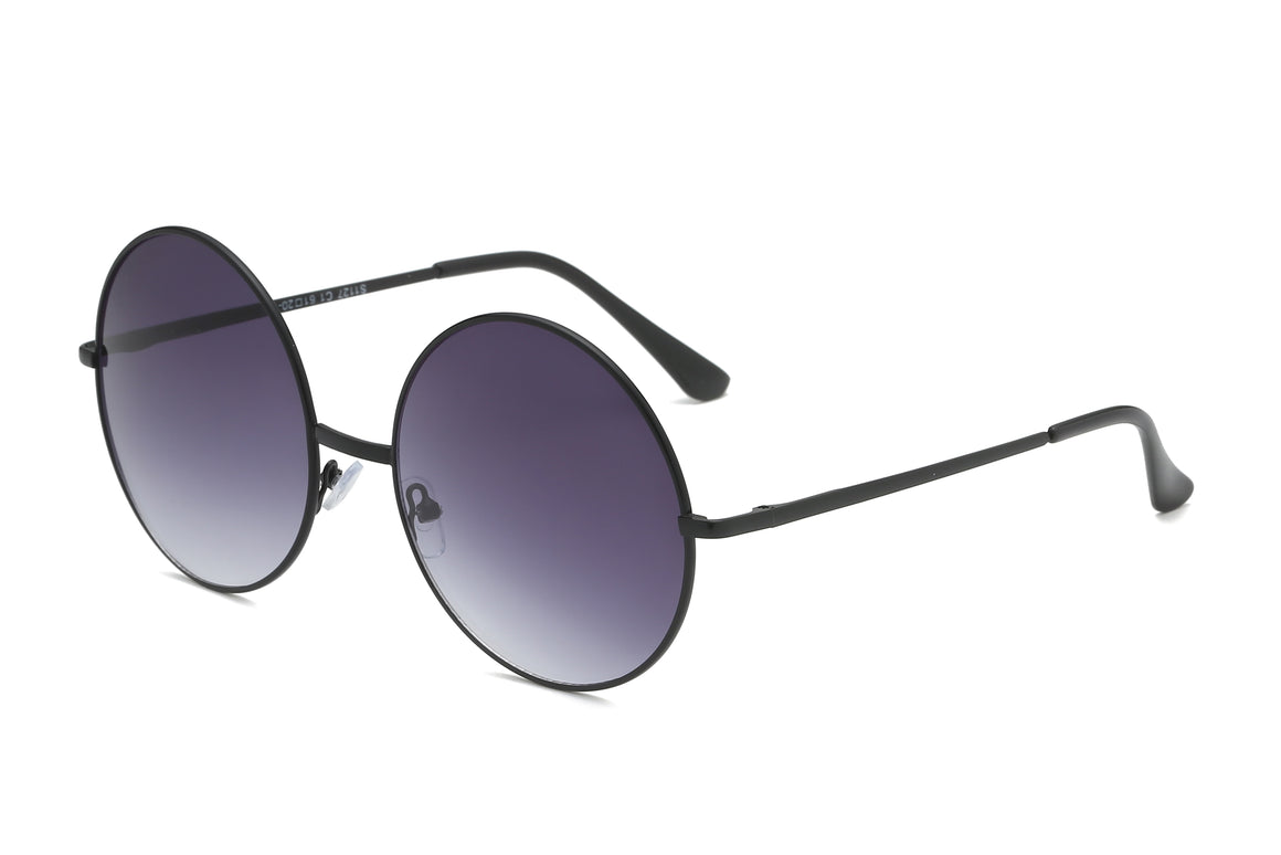 Quesada | S1127 - Round Metal Circle Retro Fashion Sunglasses