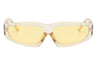 Odessa | Retro Thick Rectangle Unisex Fashion Sunglasses
