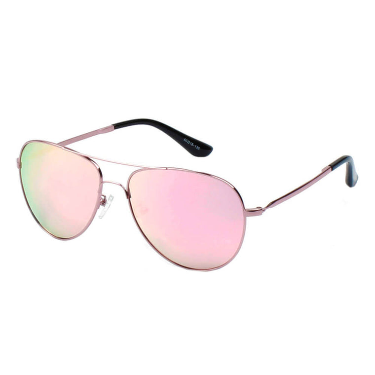 BREMEN | CB07 - Classic Mirrored Polarized Aviator Sunglasses - Cramilo Eyewear - Stylish Trendy Affordable Sunglasses Clear Glasses Eye Wear Fashion
