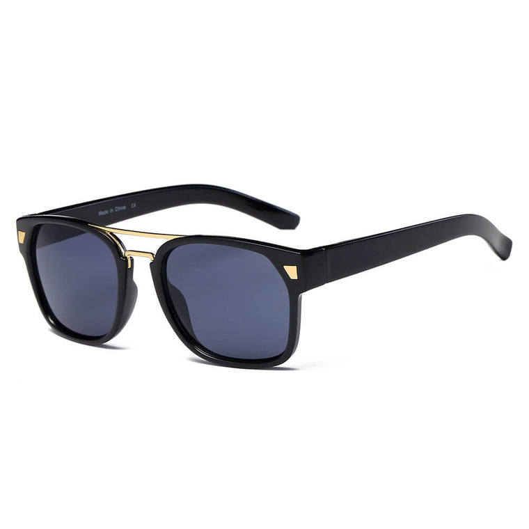 HINDMARSH | S1002 - Classic Retro Square Frame Fashion Sunglasses - Cramilo Eyewear - Stylish Trendy Affordable Sunglasses Clear Glasses Eye Wear Fashion