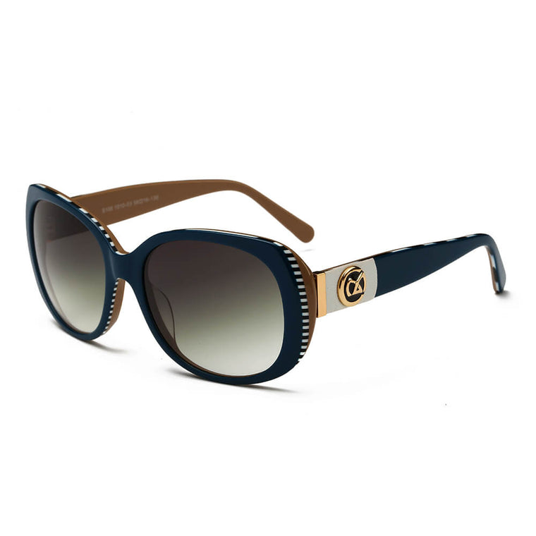 ALBANY | S105 - Womens Classic Luxury Butterfly Sunglasses - Cramilo Eyewear