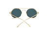 FLOYD | D62 - Retro Metal Round Circle Lennon Sunglasses