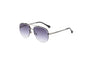 Terlton | 58163 - Classic Half Frame Anti-Reflective Aviator Fashion Sunglasses