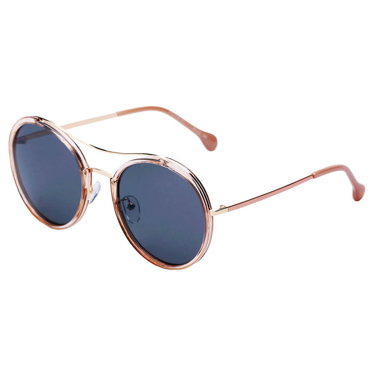 MESSINA | SHIVEDA PT27036 - Classic Round Polarized Fashion Sunglasses - Cramilo Eyewear - Stylish Trendy Affordable Sunglasses Clear Glasses Eye Wear Fashion