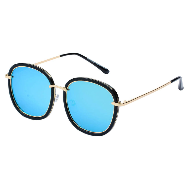 LIVORNO | SHIVEDA PT27082 - Women Round Polarized Fashion Sunglasses - Cramilo Eyewear - Stylish Trendy Affordable Sunglasses Clear Glasses Eye Wear Fashion