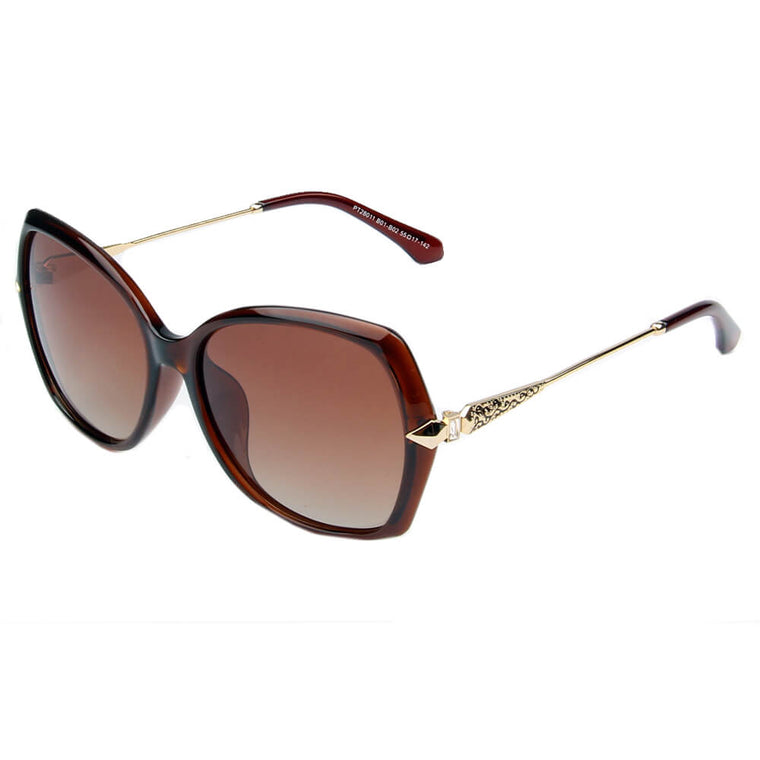 ALTAMURA | SHIVEDA PT28011 - Women Oversize Polarized Fashion Sunglasses - Cramilo Eyewear - Stylish Trendy Affordable Sunglasses Clear Glasses Eye Wear Fashion