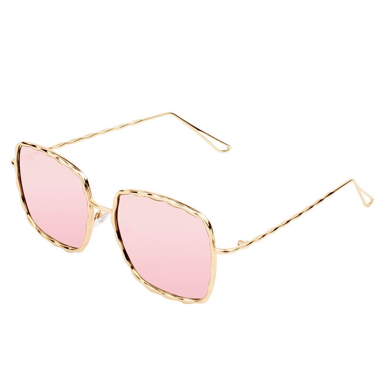 ENNIS | S2025 - Women Square Chic Fashion Sunglasses - Cramilo Eyewear - Stylish Trendy Affordable Sunglasses Clear Glasses Eye Wear Fashion