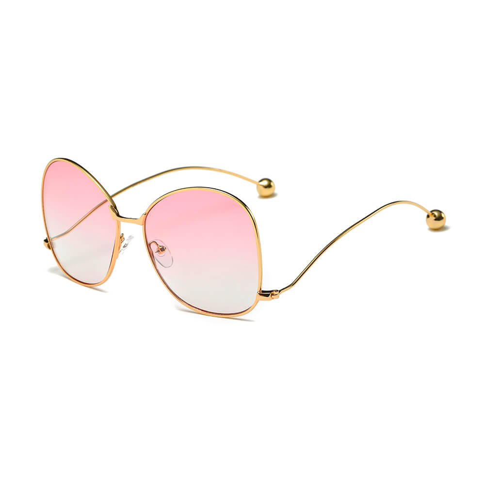 EUGENE | CD05 - Women's Trendy Oversized Pantone Lens Sunglasses - Cramilo Eyewear - Stylish Trendy Affordable Sunglasses Clear Glasses Eye Wear Fashion