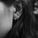 Onepoint Hammered Earrings