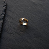 Imperfection Ring Small Gold
