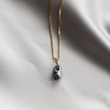 Keshi Pearl Necklace Gold