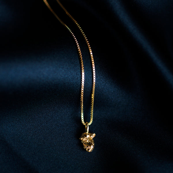 Zero Waste Necklace Gold