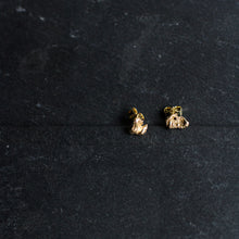 Load image into Gallery viewer, Zero Waste Earrings Gold